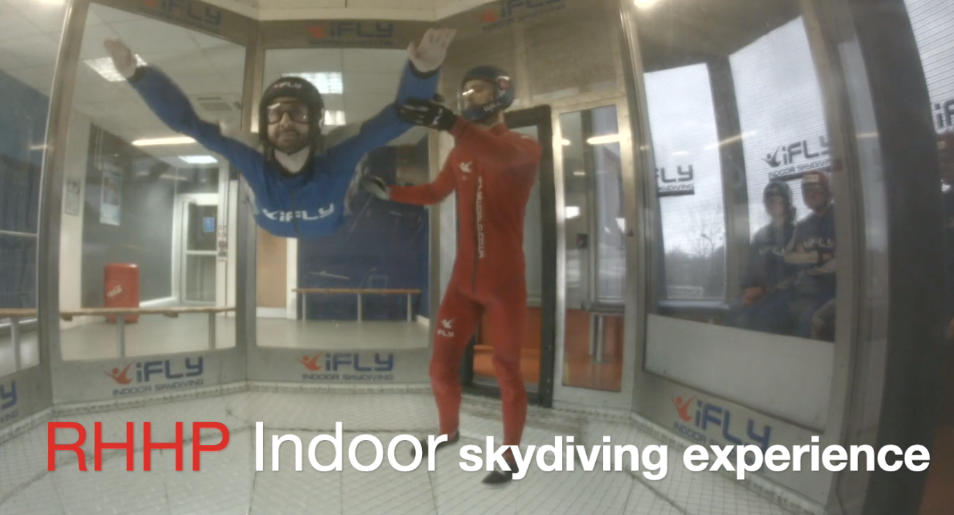 RHHP IFLY indoor skydiving experience review Featured Image